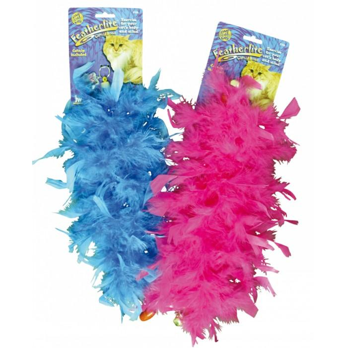"JW FEATHERLITE CAT BOA 15.75"" (40cm) Long Assorted Colours"