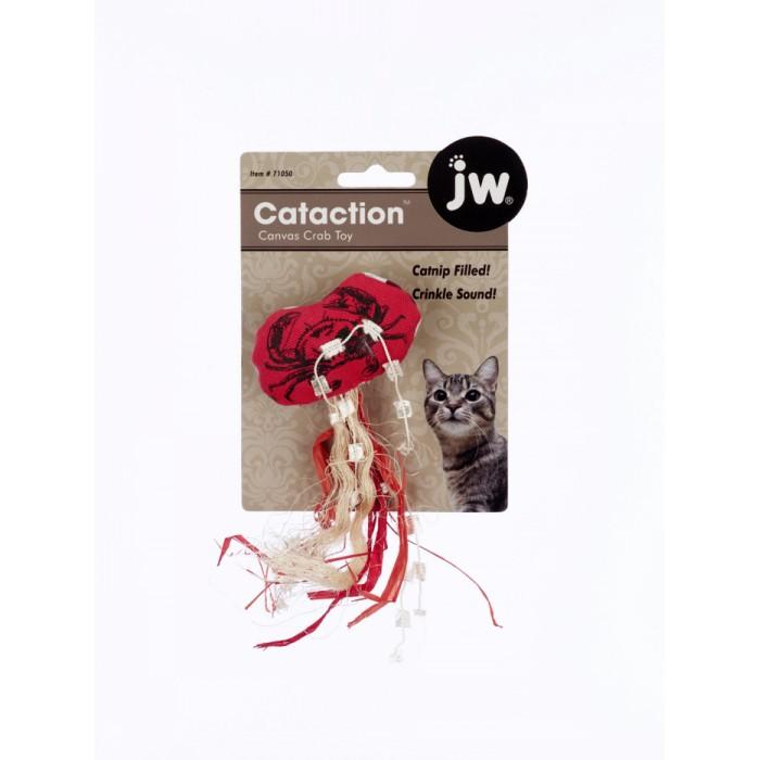 JW CAT TOY - CANVAS CRAB - Click to enlarge