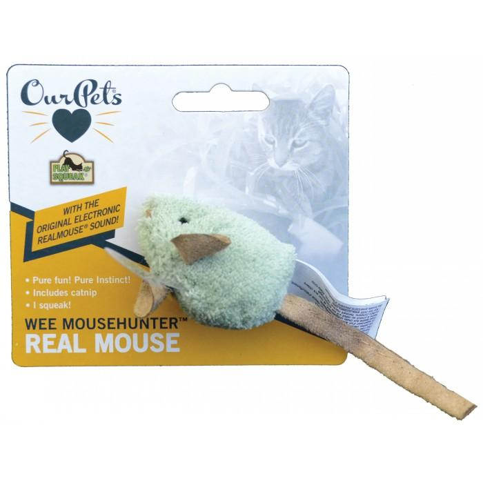 Play-N-Squeak WEE MOUSEHUNTER CAT TOY - 5.5cm Mouse - Click to enlarge