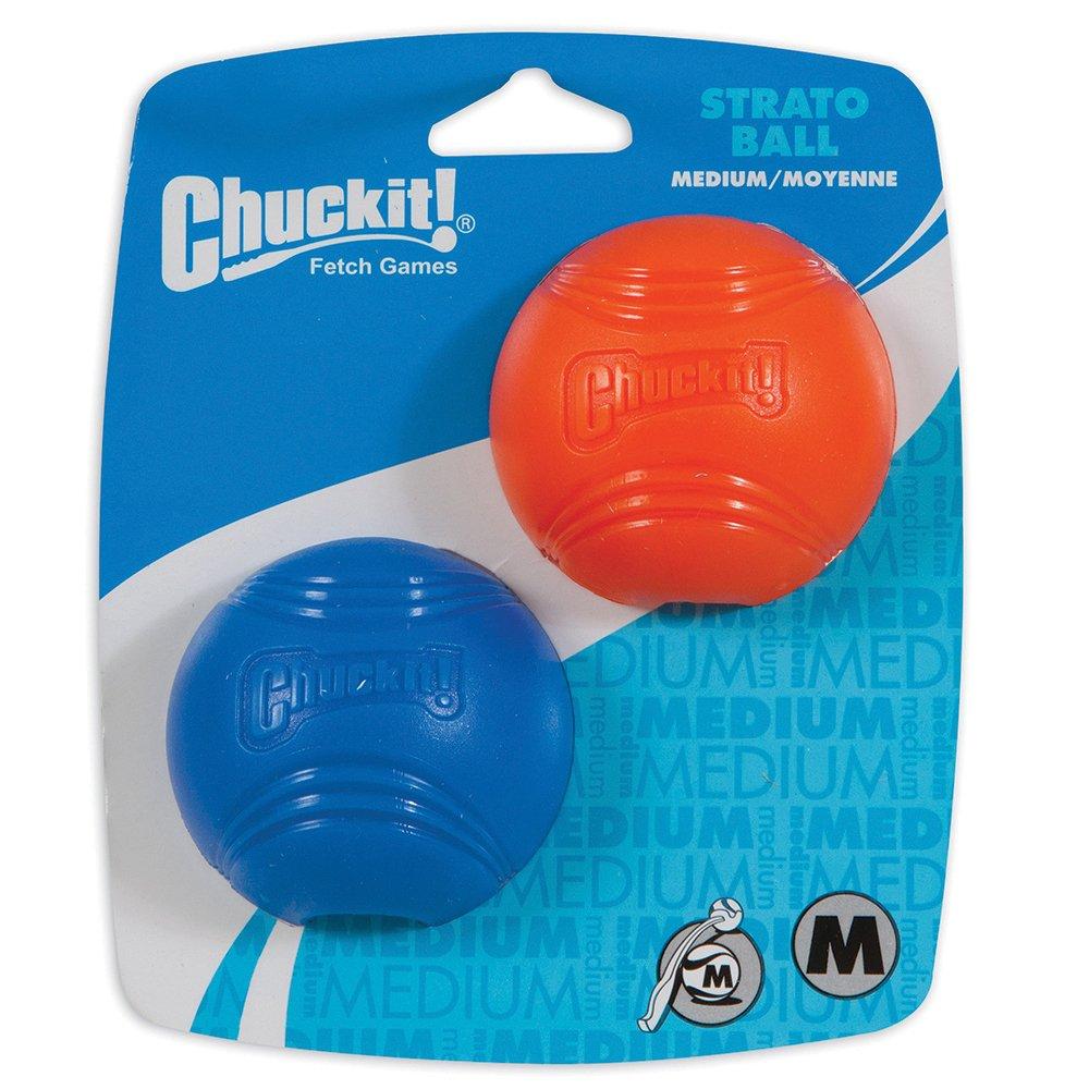 Chuckit! STRATO BALL MEDIUM 2pk - Click to enlarge