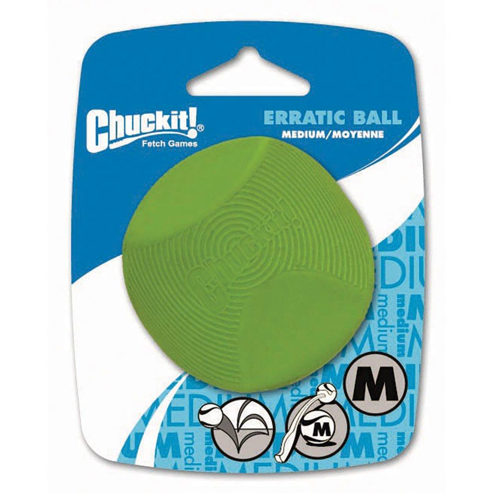 "Chuckit! ERRATIC BALL - MEDIUM 2.5"" (6cm) Diameter - 1pk - Click to enlarge"