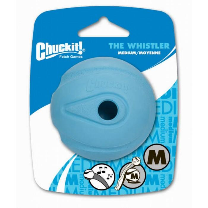 "Chuckit! WHISTLER BALL - MEDIUM 2.5"" (6cm) - 1pk - Click to enlarge"