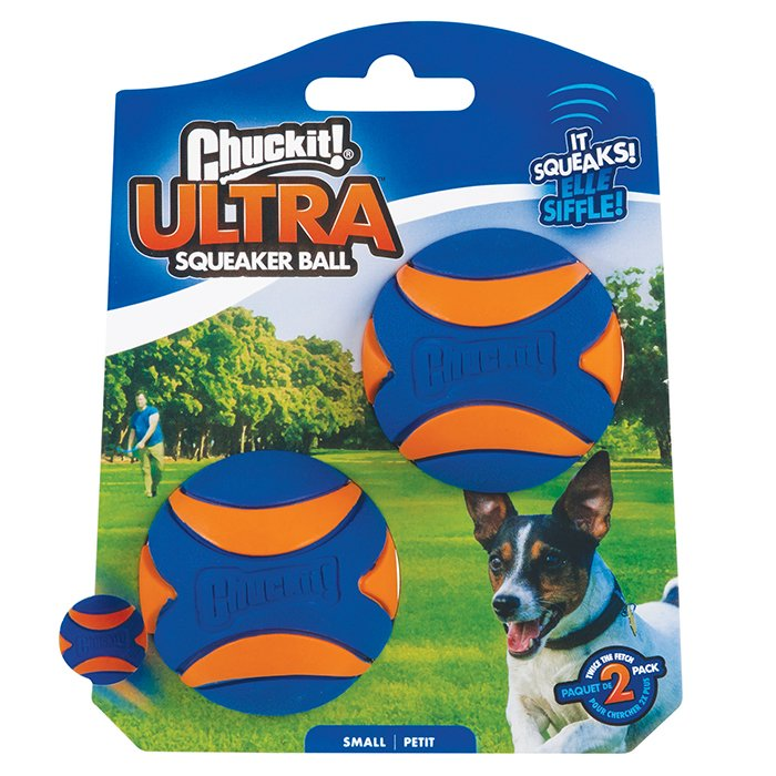 Chuckit! ULTRA SQUEAKER 2pk Small - Click to enlarge