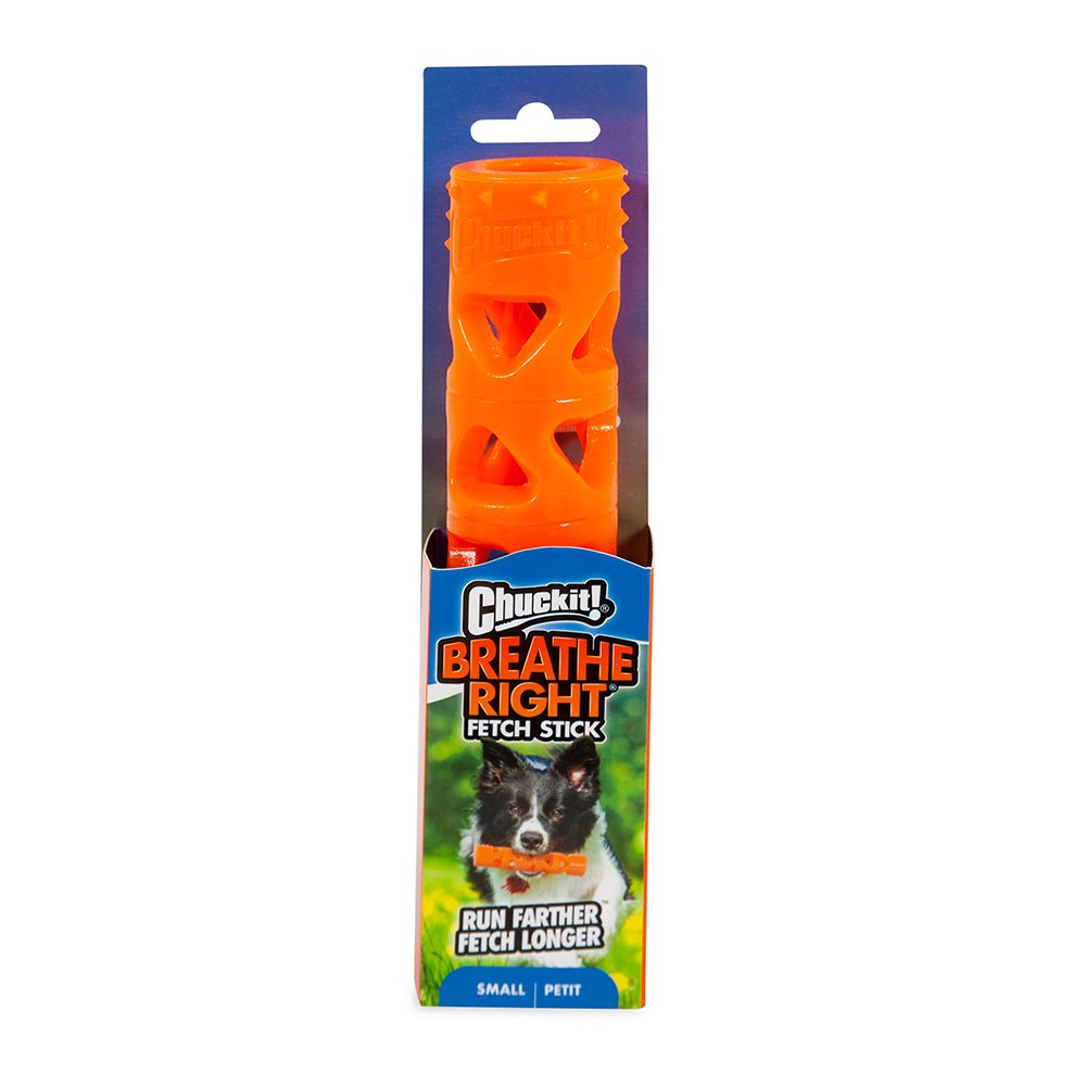 Chuckit! BREATHE RIGHT STICK - SMALL 17.5 x 3.5cm - Click to enlarge