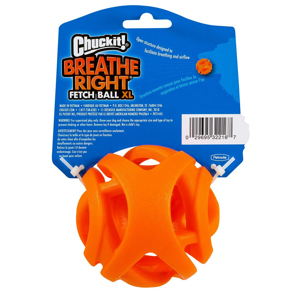 Chuckit! BREATHE RIGHT FETCH BALL EXTRA LARGE 1pk 8.5cm