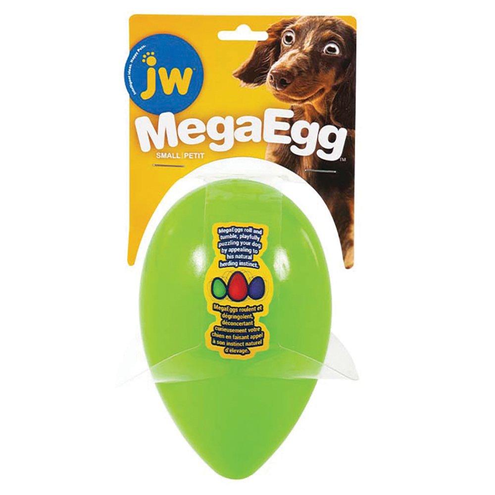 JW MEGA EGG Small (12.5 x 8cm) Green - Click to enlarge