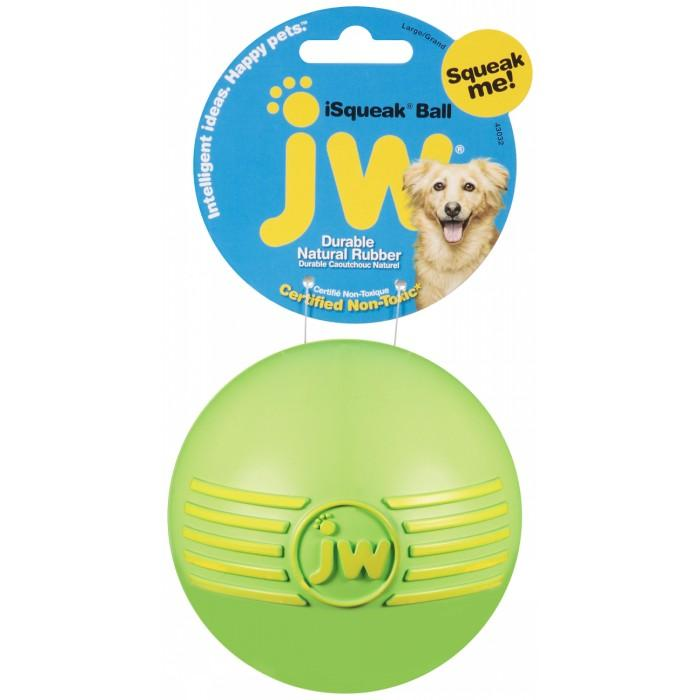 JW iSQUEAK BALL Large (10cm Diameter) - Click to enlarge