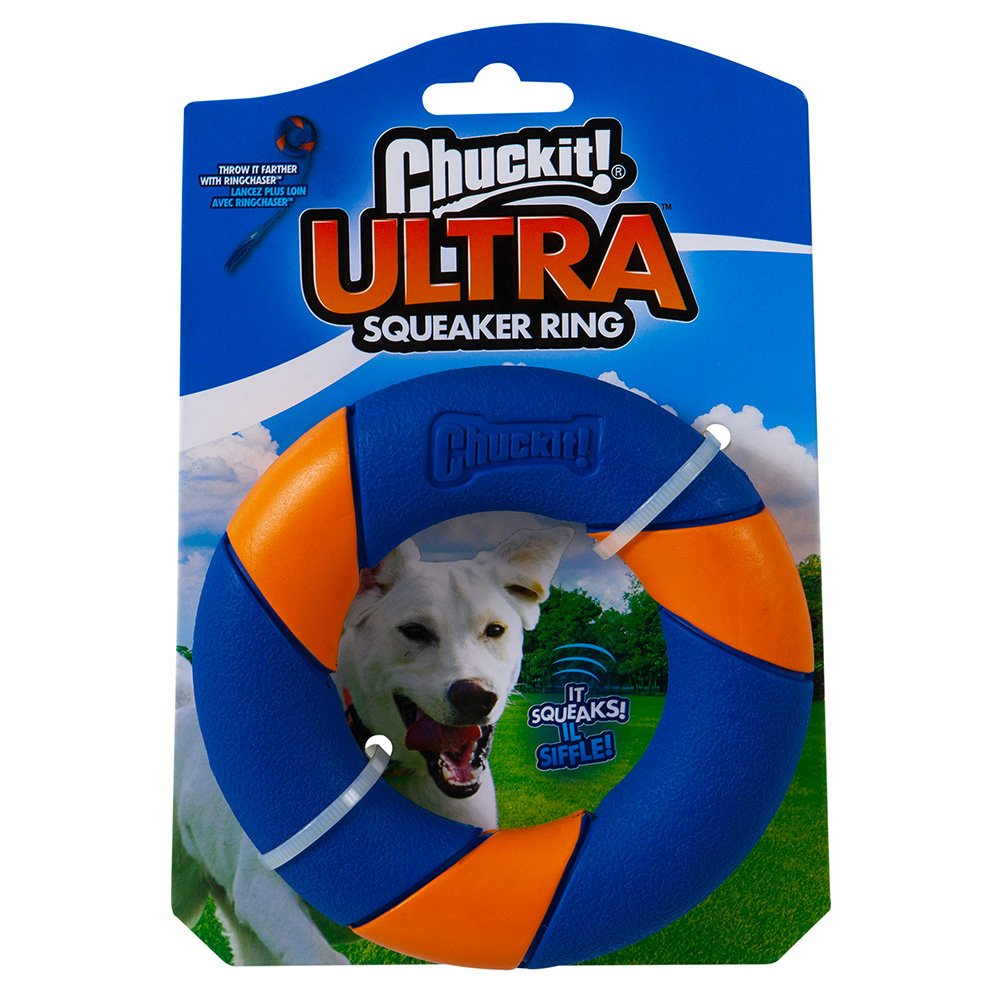 Chuckit! ULTRA SQUEAKER RING 12 x 2.5cm - Click to enlarge