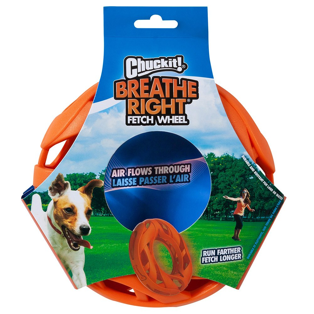 Chuckit! BREATHE RIGHT FETCH WHEEL 20 x 5cm - Click to enlarge