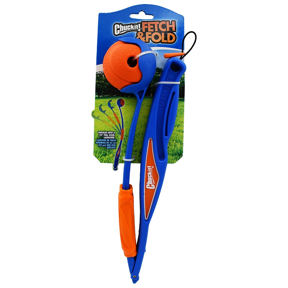 Chuckit! FETCH & FOLD 25M LAUNCHER - Click to enlarge