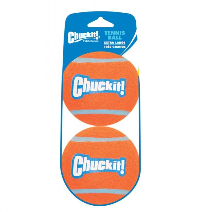 Chuckit! XL (8cm D) TENNIS BALL 2pk - Click to enlarge
