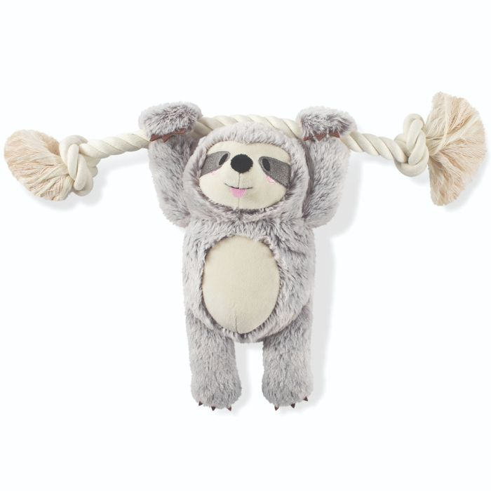Prestige PLUSH HANGING SLOTH WITH ROPE (25 x 39cm) - Click to enlarge