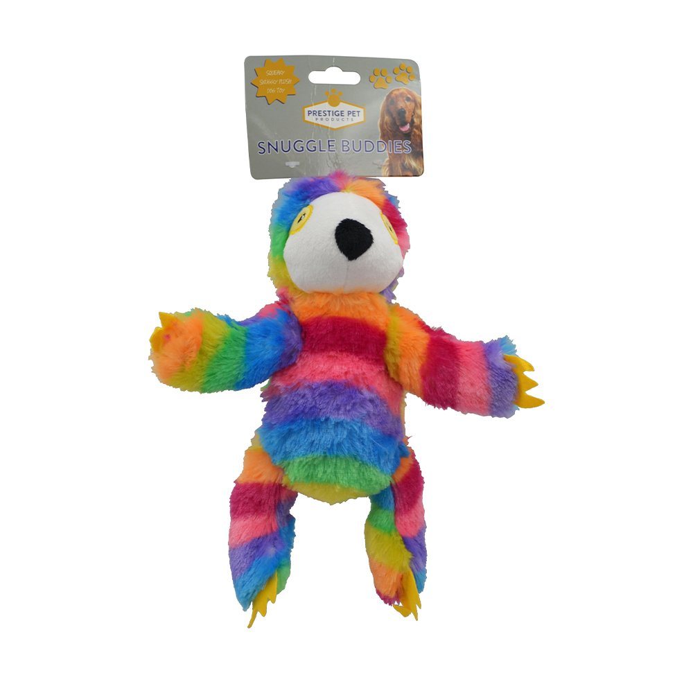 Prestige PLUSH SLOTH Rainbow - Small (21 x 13cm) - Click to enlarge