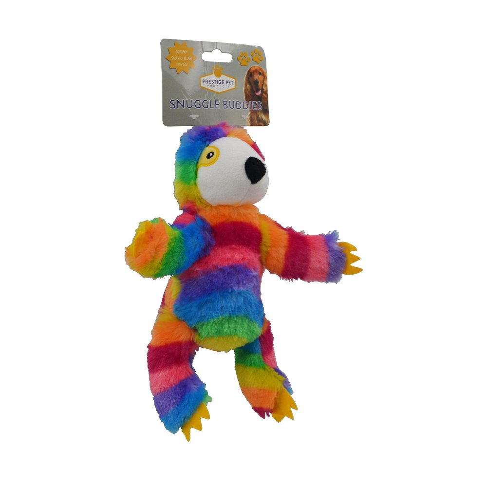 Prestige PLUSH SLOTH Rainbow - Small (21 x 13cm)