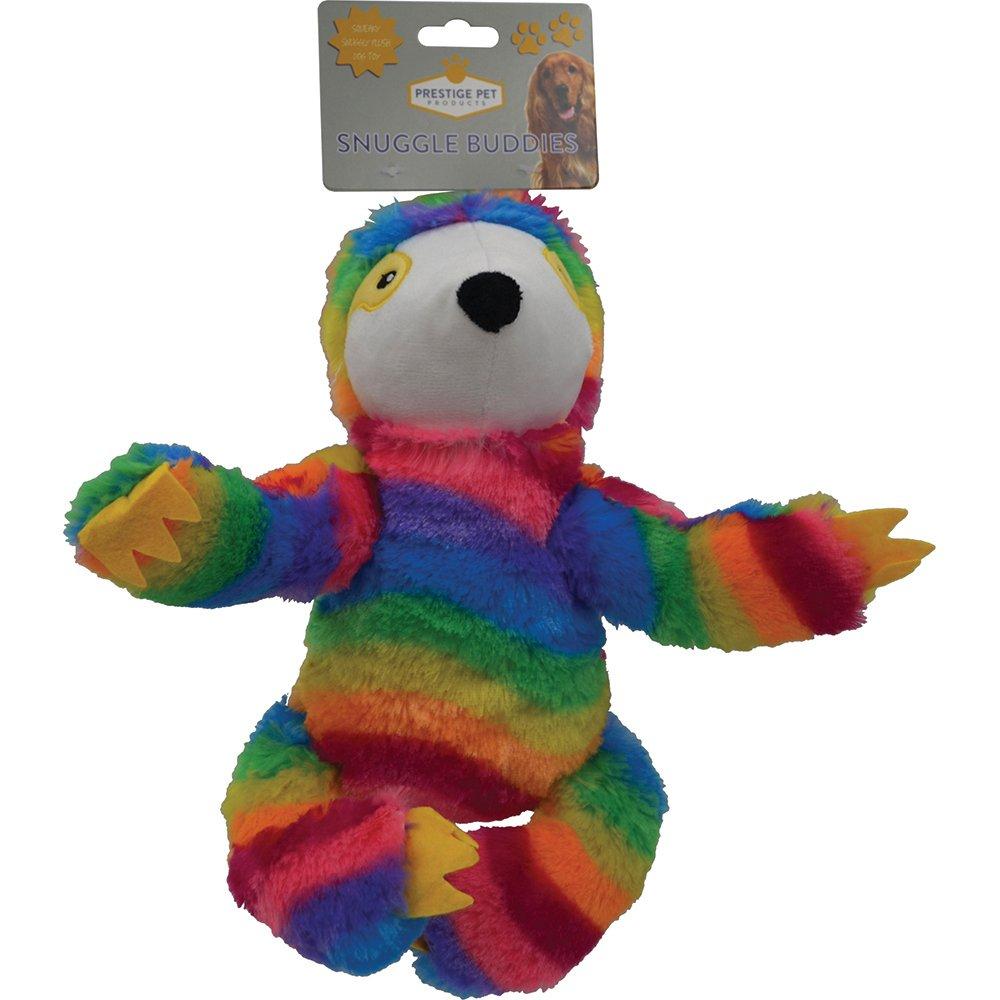 Prestige PLUSH SLOTH Rainbow - Large (26 x 17cm) - Click to enlarge