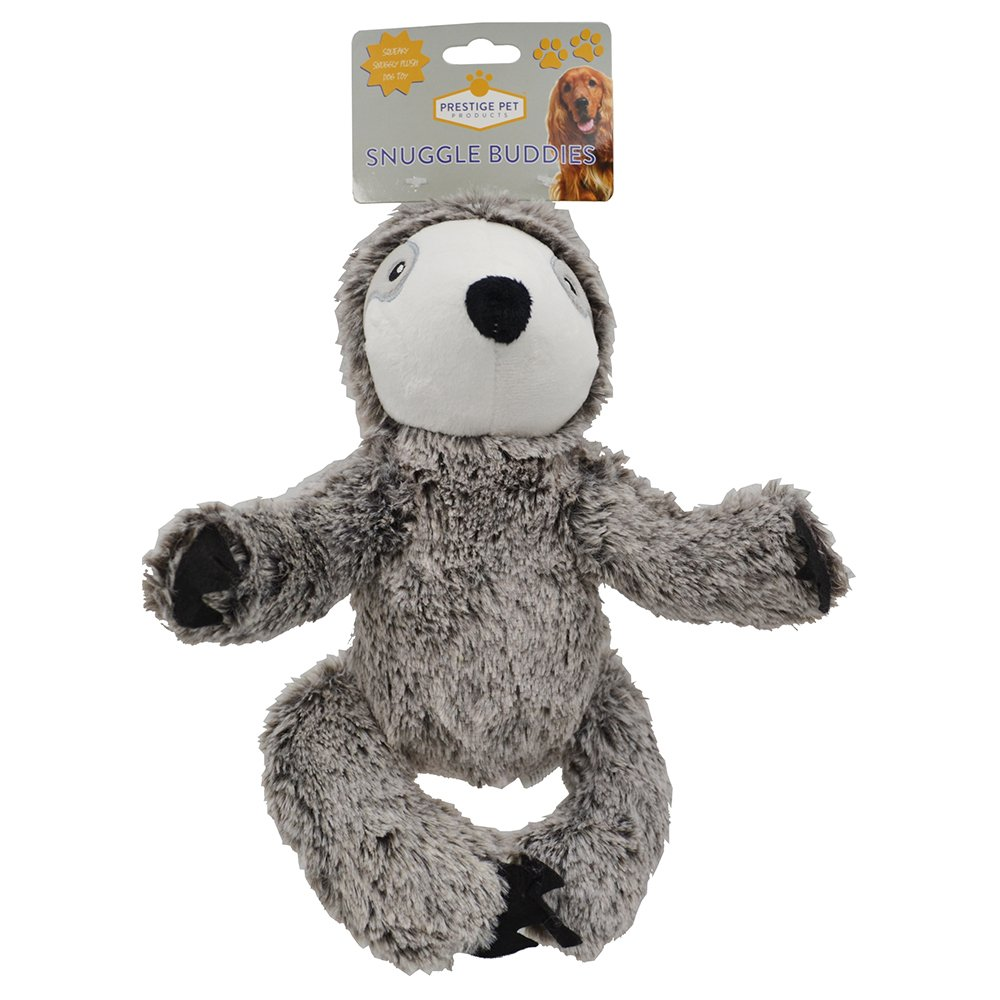 Prestige PLUSH SLOTH Grey - Large (26 x 17cm) - Click to enlarge