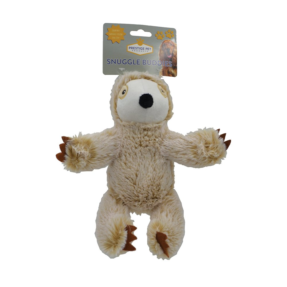 Prestige PLUSH SLOTH Tan - Small (21 x 13cm) - Click to enlarge