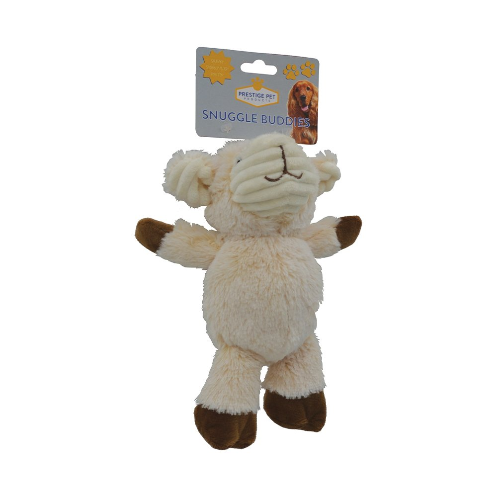 Prestige PLUSH SNUGGLE LAMB - Small (24 x 14cm)