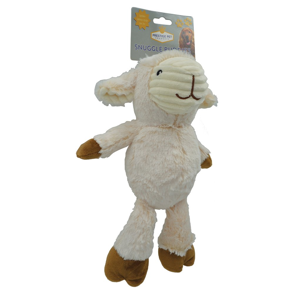 Prestige PLUSH SNUGGLE LAMB - Large (30 x 17cm) - Click to enlarge
