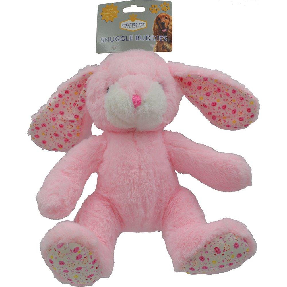 Prestige PLUSH SNUGGLE BUNNY Pink (24cm) - Click to enlarge