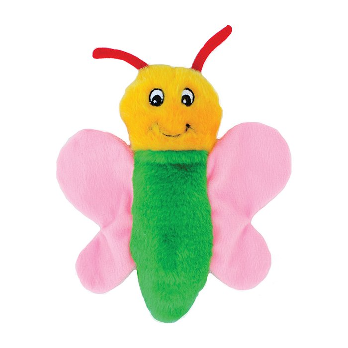 ZippyPaws - CRINKLE TOY BUTTERFLY 19 x 20 x 5cm - Click to enlarge