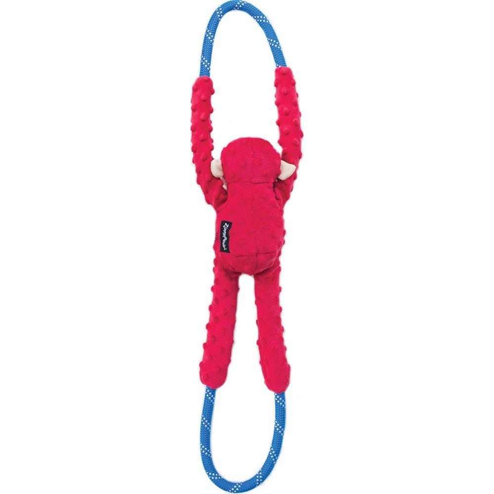 ZippyPaws - ROPETUGZ MONKEY RED 71 x 12 x 7cm