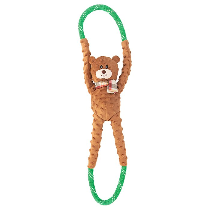 ZippyPaws - ROPETUGZ BEAR 71 x 17 x 12cm - Click to enlarge