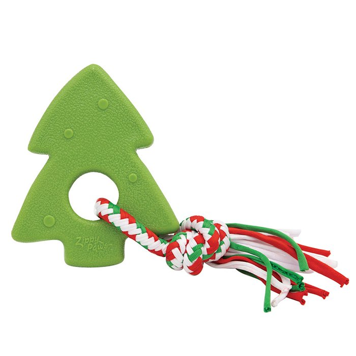 ZippyPaws - HOLIDAY TEETHERZ CHRISTMAS TREE 15 x 12.5cm - Click to enlarge