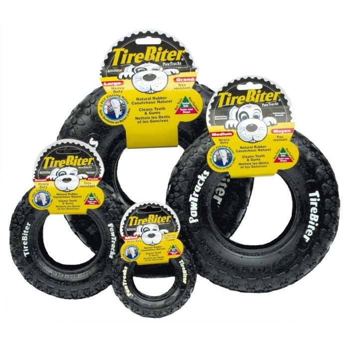 "TireBiter PAW TRACK Large 10"" (25cm) - Click to enlarge"