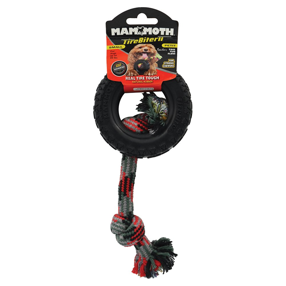 TireBiterII - PAW TRACK TIRE W/ROPE (9 x19cm) - Click to enlarge