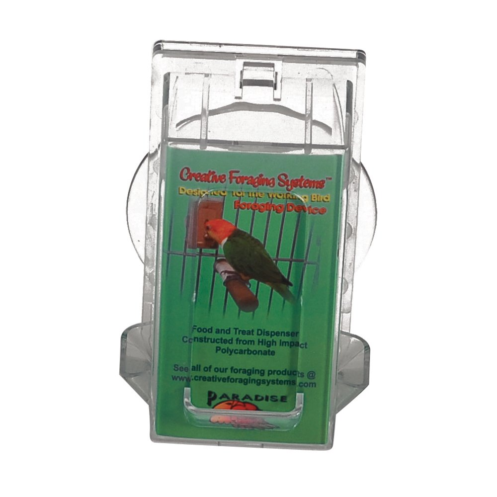 Featherland Paradise FORAGING VERTICAL HOLDER Sml 11x7.5cm - Click to enlarge