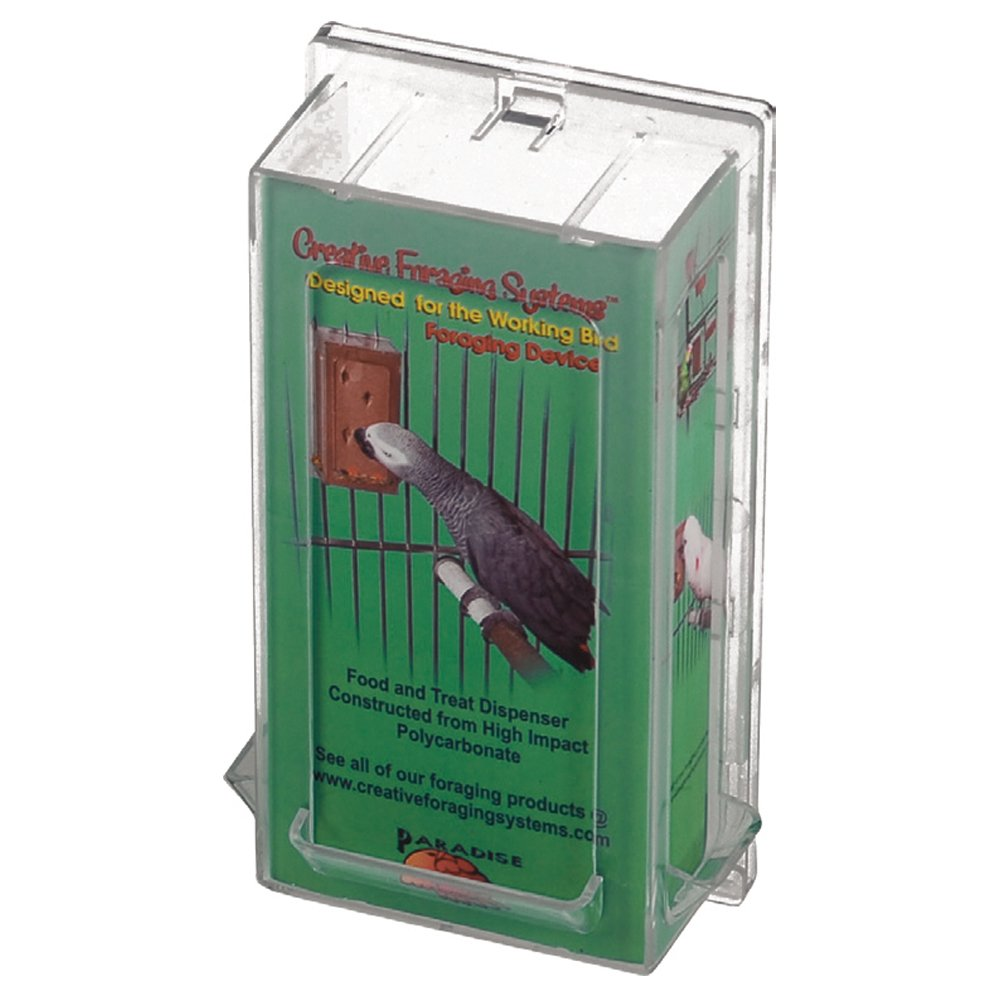 Featherland Paradise FORAGING VERTICAL HOLDER Lge 16.5x8.5cm - Click to enlarge