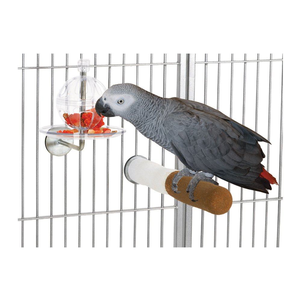 Featherland Paradise BUFFET BALL CAGE MOUNTED (17.5 x 15cm)