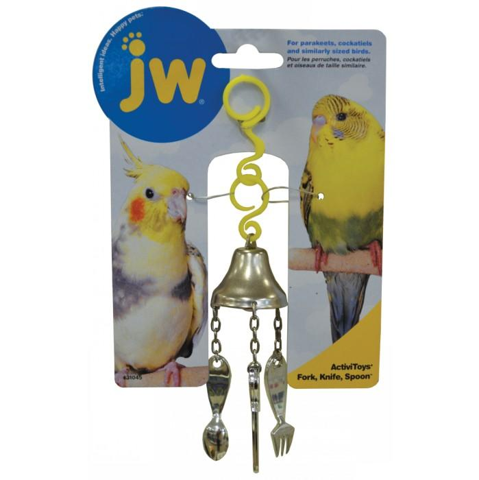 JW Insight BIRD TOY FORK, KNIFE & SPOON - Click to enlarge