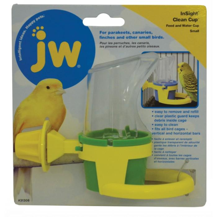 JW Insight CLEAN CUP FEED and WATER Small (10cm Ov. Height) - Click to enlarge