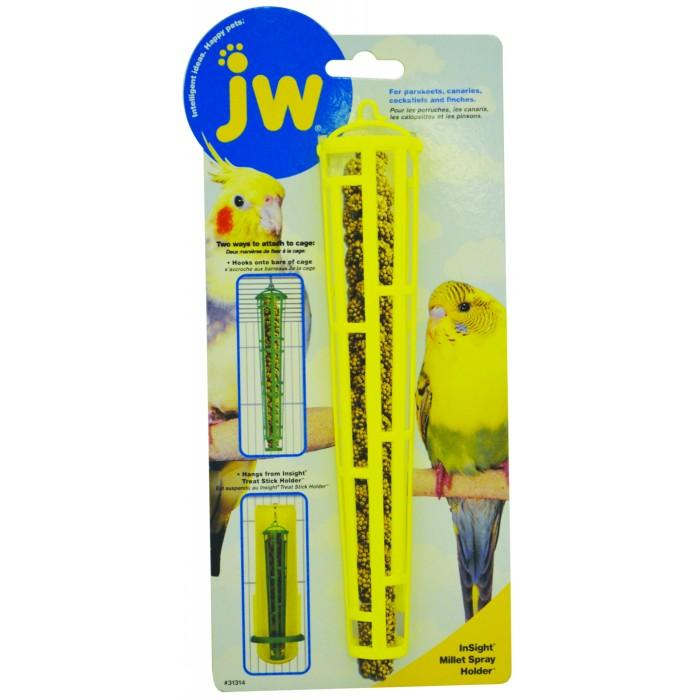 JW Insight MILLET SPRAY HOLDER (21cm Tall) - Click to enlarge
