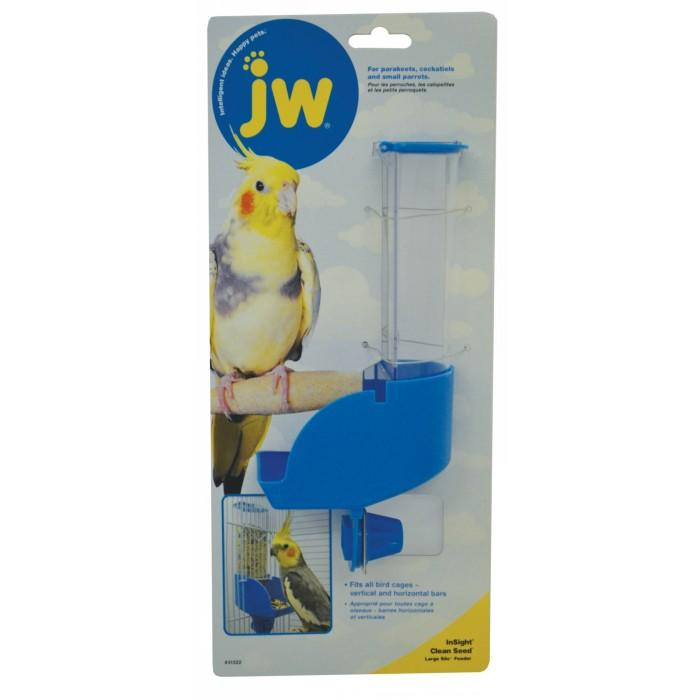 JW Insight CLEAN SEED LARGE SILO FEEDER (21.5cm Ov. Ht) - Click to enlarge