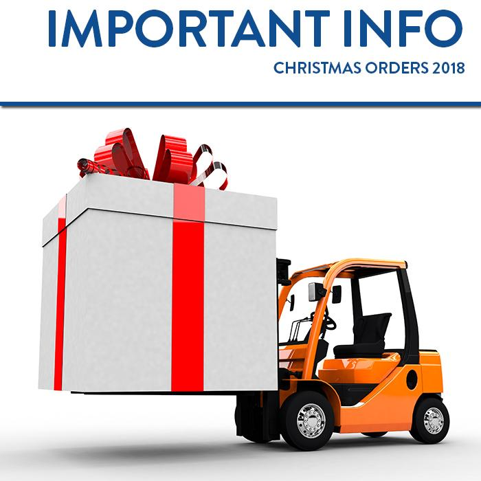IMPORTANT CHRISTMAS DELIVERY INFORMATION