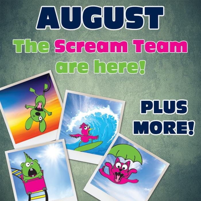 The SCREAM Team is here!