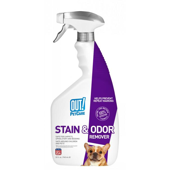 Out! Petcare - STAIN & ODOR REMOVER SPRAY 945ml - Click to enlarge
