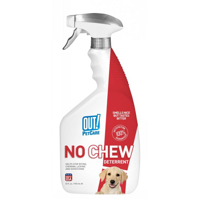 Out! Petcare - 'NO CHEW' DETERRENT SPRAY 945ml - Click to enlarge