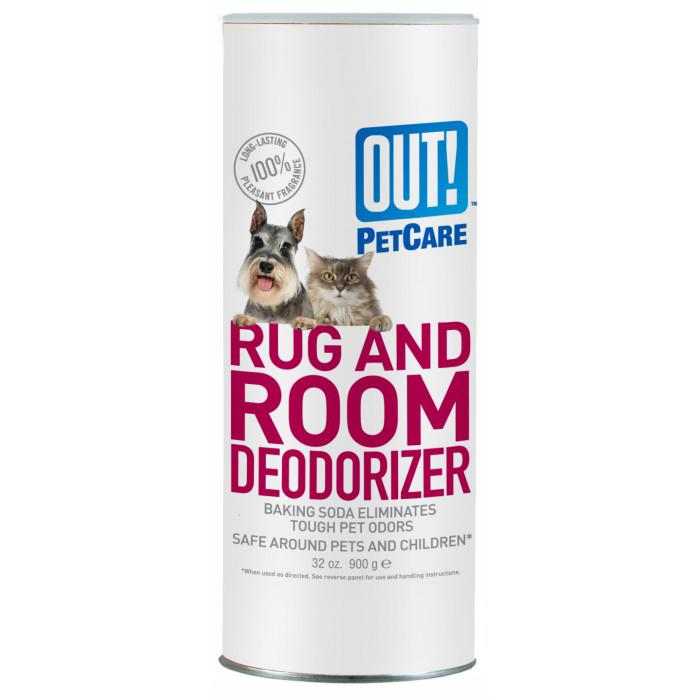 Out! Petcare - RUG & ROOM DEODORIZER - CARPET POWDER 905ml - Click to enlarge