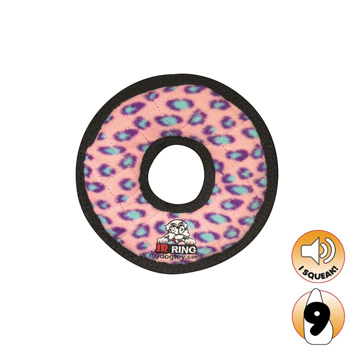 Tuffy JR's RING Pink Leopard - Click to enlarge