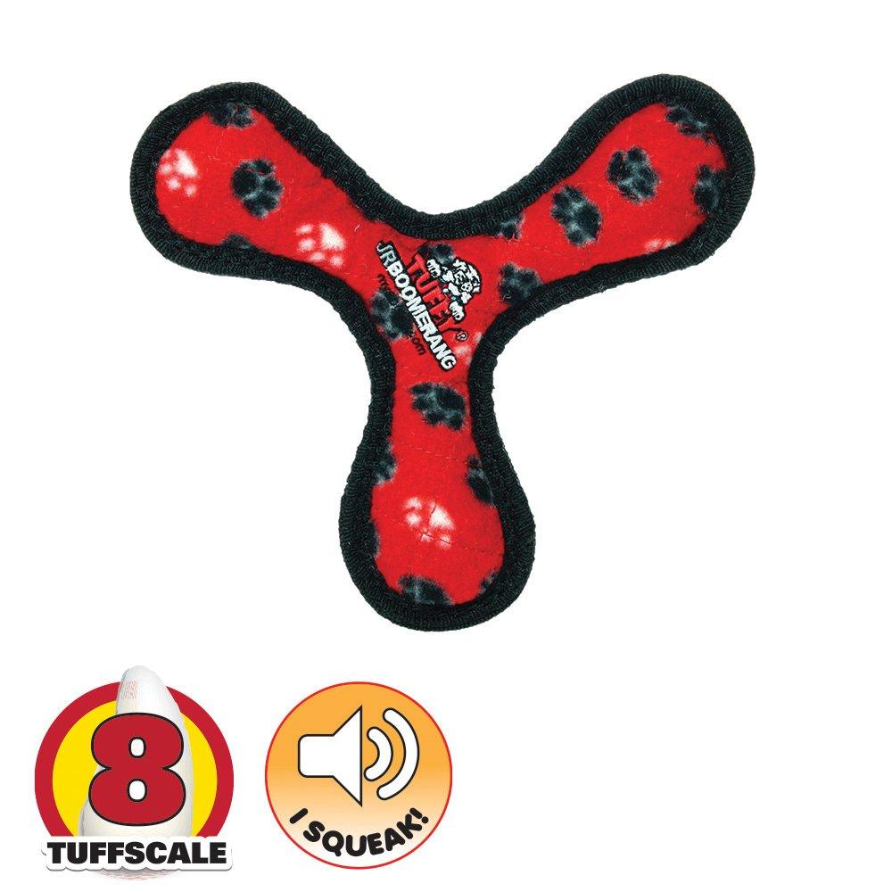 Tuffy JR's BOWMERANG Red Paws - Click to enlarge