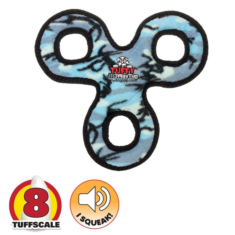 Tuffy JR's 3-WAY TUG Camo Blue - Click to enlarge