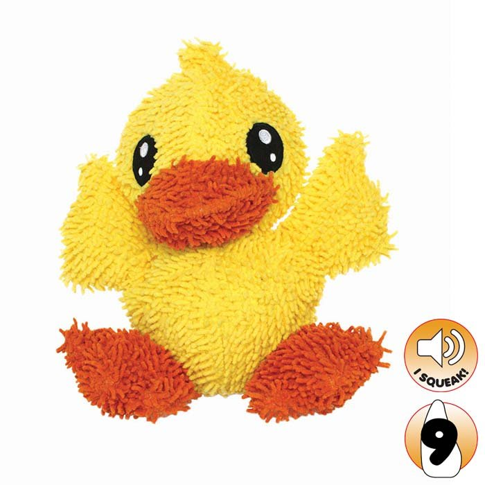 Tuffy - MIGHTY TOY MICROFIBER BALL DUCK - Click to enlarge