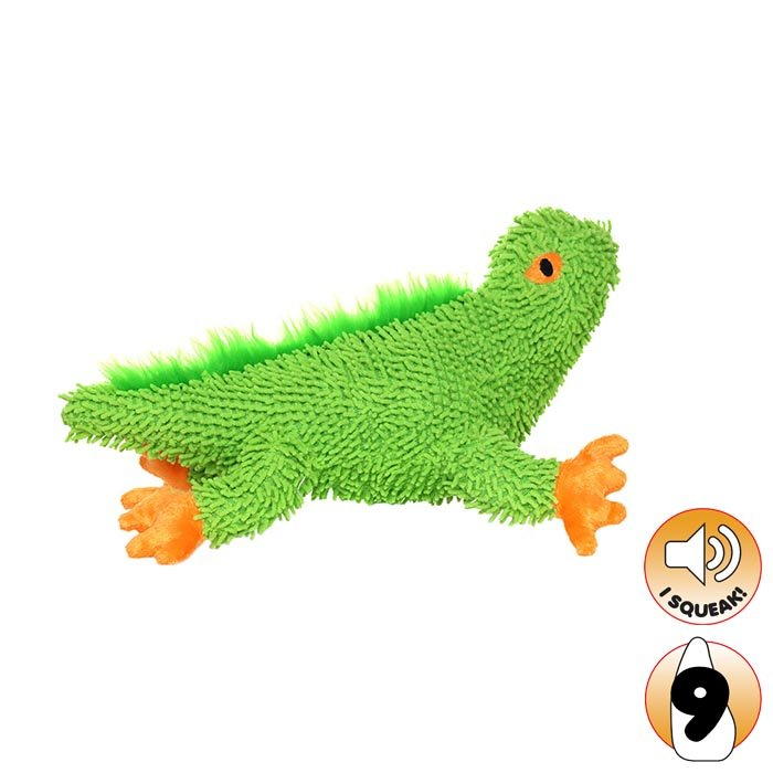 Tuffy - MIGHTY TOY MICROFIBER LINK THE LIZARD - Click to enlarge