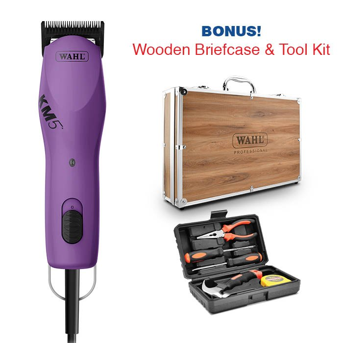 Wahl KM5 CLIPPER - Purple (2019 Summer Promotion) - Click to enlarge