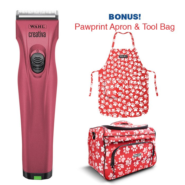 Wahl CREATIVA PET CLIPPER - Pink (2019 Summer Promotion) - Click to enlarge