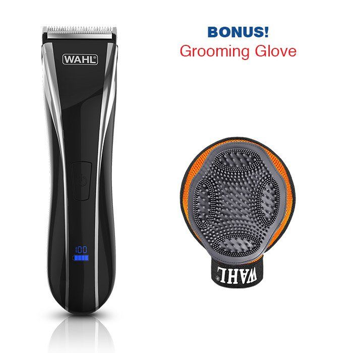 Wahl LITHIUM PET PRO Black & Silver (2019 Summer Promotion) - Click to enlarge